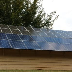 Solar energy system in South Carolina.